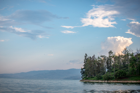 beautiful aqua watebeautiful aqua water on the lakes edge with beautiful shoreliner on the lakes edge Stock Photo