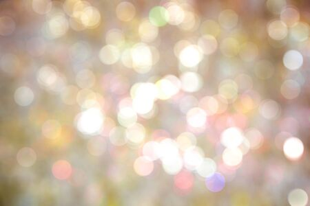 Colorful bokeh of festival lights background.