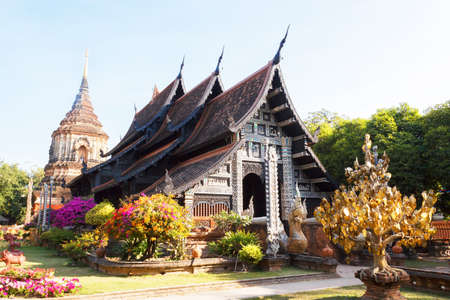 molee: Wat Lok molee, Temple in Chiangmai, Thailand.