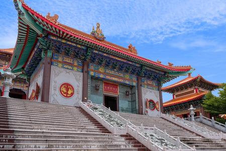 Chinese style temple, Wat Baromracha kanchanapisek anusorn temple. (Wat Leng Noei Yi 2)