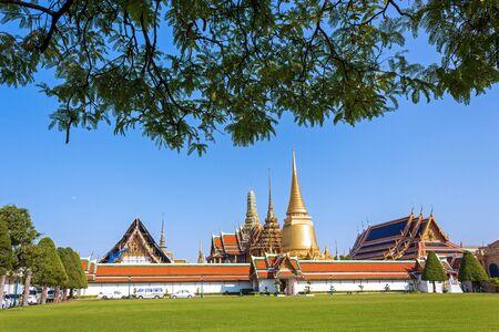 Wat Phra Kaew, Wat Phra Si Rattana Satsadaram, famous temple in Bangkok, Thailand.