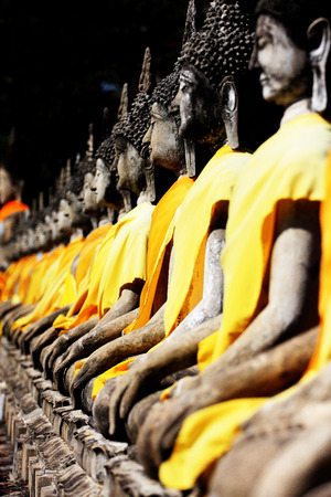gautama: Temple of Ayuthaya Thailand