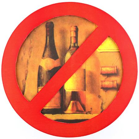 no alcohol: no alcohol isolate a white background