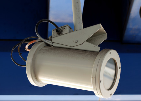 close circuit camera: Close up of Surveillance Camera