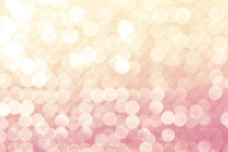 orange background abstract: pink orange bokeh abstract background