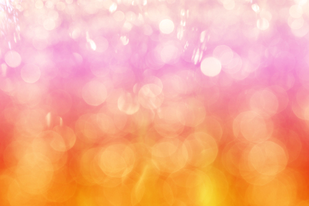 multicolors bokeh abstract background, pink orange and red bokeh