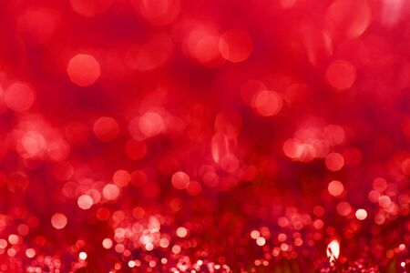red bokeh abstract background