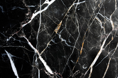 Black marble pattern texture. White pattern, trimmed with black marble floor general  for background and design product.