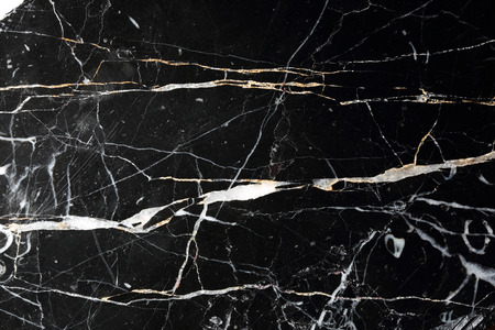 Modello in marmo nero per il design. Archivio Fotografico