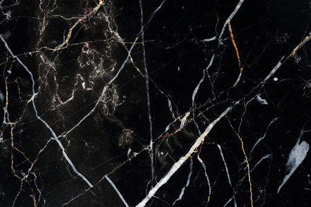 intrinsic: Natural pattern of black marble for background, Abstract marble for design. Stock Photo