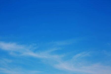 Soft focus of clouds and blue sky background
