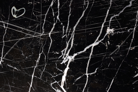 intrinsic: White patterned natural of black marble pattern for texture and design.