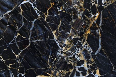 intrinsic: Gold and white patterned structure of dark gray marble pattern texture for design.