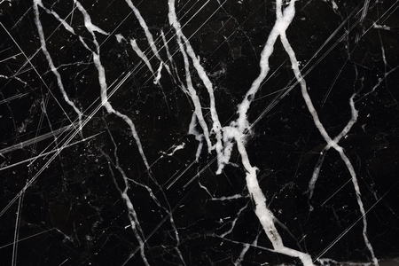 intrinsic: White pattern natural of black marble texture background. Stock Photo