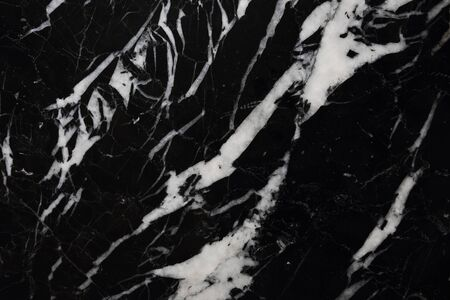 intrinsic: White patterned natural of black marble texture and for interior and other design. Stock Photo