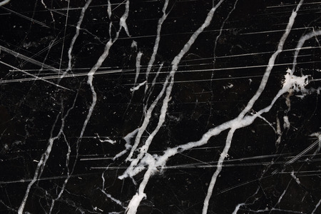 White patterned natural of black marble pattern texture, abstract marble background for design product. Stok Fotoğraf - 62228927