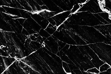 White patterned natural of black marble background texture for interior or product design.