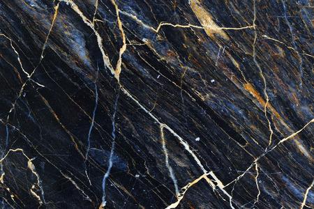 黄色と白は、黒い大理石のテクスチャの自然を模様。