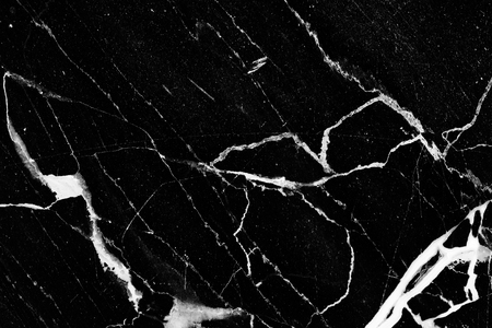 intrinsic: White patterned natural of black and white marble background texture for product design. Stock Photo