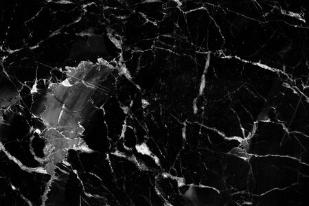 intrinsic: Horizontal of black and white marble pattern texture for design.