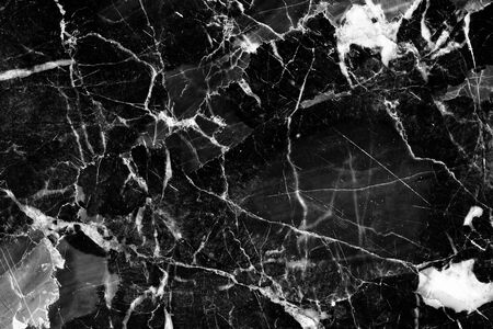 intrinsic: White Patterned of black and white marble texture background for interior design.