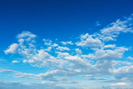 blue sky and clouds view, natural background
