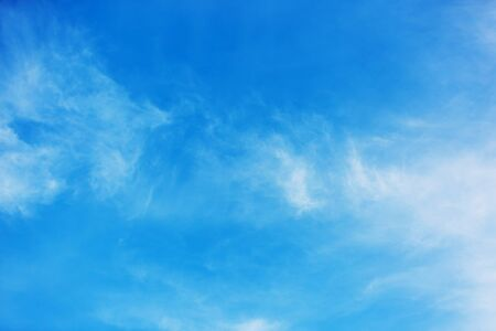 cloud and blue sky background ot texture Stock Photo