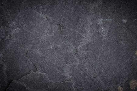 Dark grey and black slate background or texture Stok Fotoğraf