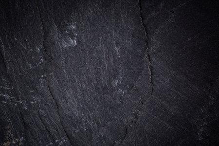 Dark gray slate texture, abstract background Stok Fotoğraf