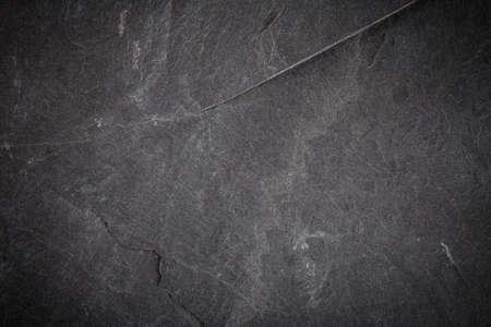 Dark gray and black slate texture or background Stok Fotoğraf