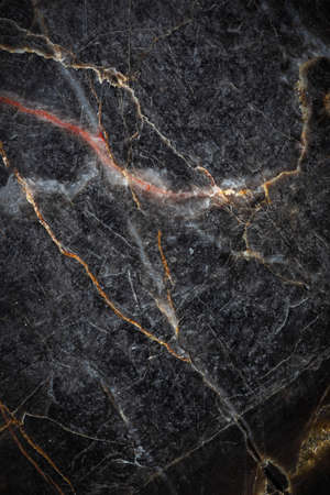 Patterned detail of dark gray marble texture or background