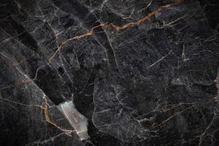 White and black patterned natural detailed of dark gray marble (Russia Gold) texture background