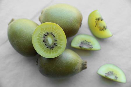 kiwi fruta: Toda Slice medio Oro Kiwi