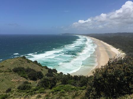 australia beach: Byron Bay, Australia