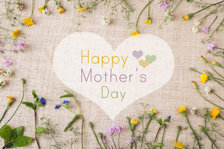 Happy Mothers Day flowers background 版權商用圖片