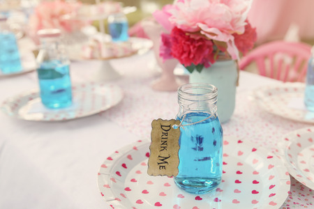 drink me: The Drink Me potion, Alice in wonderland tea party theme,toning