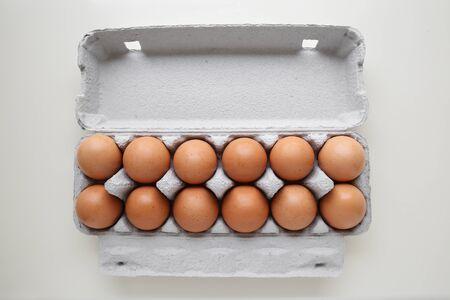 dozen: Dozen eggs in packaging