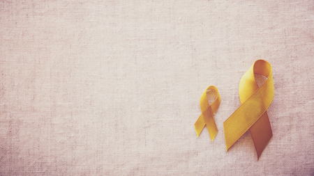 yellow gold ribbons, Sarcoma Awareness, Bone cancer, Liver cancer, Bladder Cancer, childhood cancer awareness