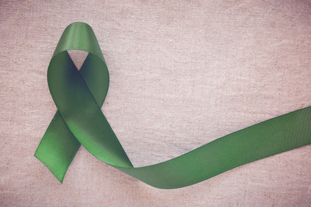 Green Ribbon, cancer awareness, Liver, Gallbladder Bile Duct cancer awareness, Hepatitis B awareness
