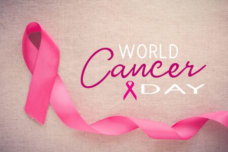 Pink ribbon, World cancer day