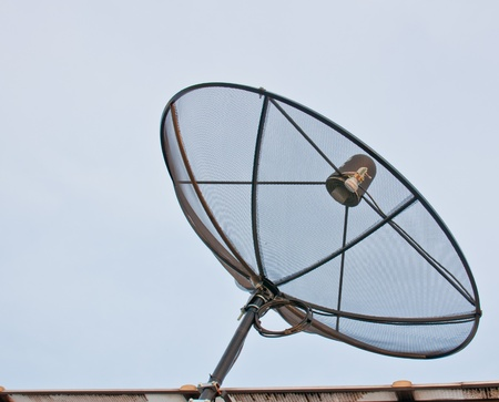 antena on sky background