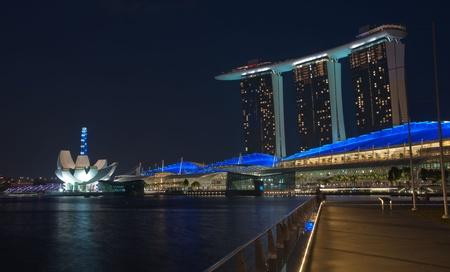 シンガポール-1 月 23: マリーナ...