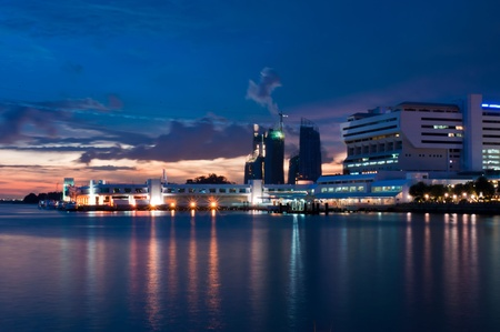 Habour Front Ferry Terminal, Singapore Stock Photo