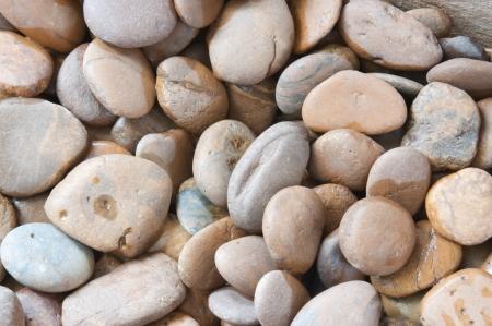 Background of river gravel rocks