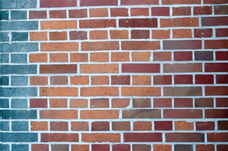 close up of antique brick wall