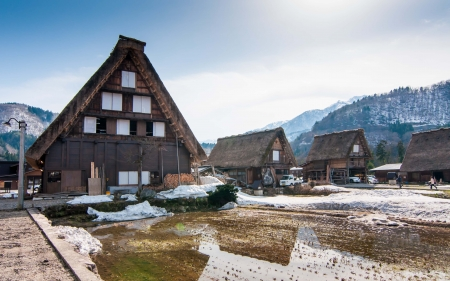 shirakawago village, Japan