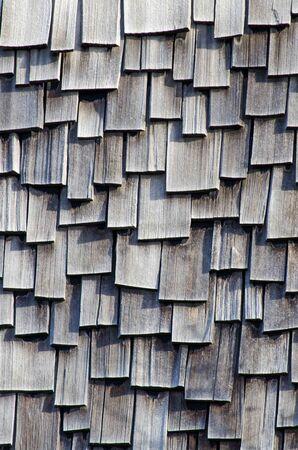 Cedar roof texture