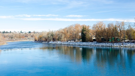 Prince s Island Park, Calgary, Canada Stock Photo - 16720598