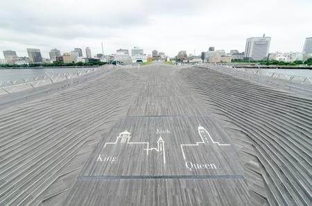Yokohama Big Wharf, osanbashi pier