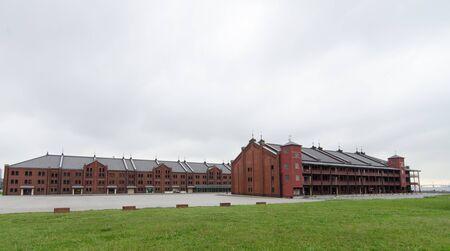 Red brick warehouse, Yokohama, Japan Editorial
